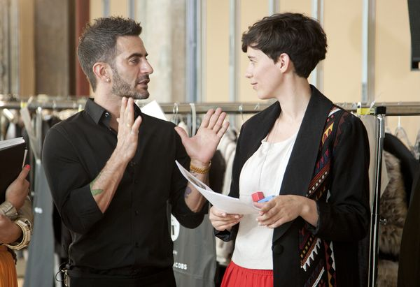 Marc Jacobs and Alexandra Kiesel