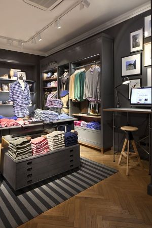 Marc O'Polo's new store design