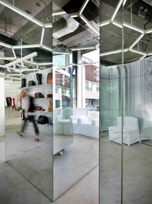 Margiela store in Beijing
