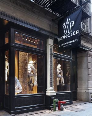Moncler store New York
