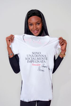 Naomi Campbell presents Convivio T-Shirt