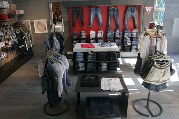 New Guess Jeans shop-in-shop concept