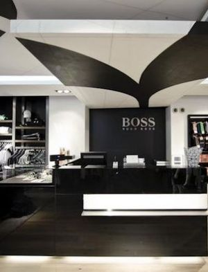 New Hugo Boss store on Sylt