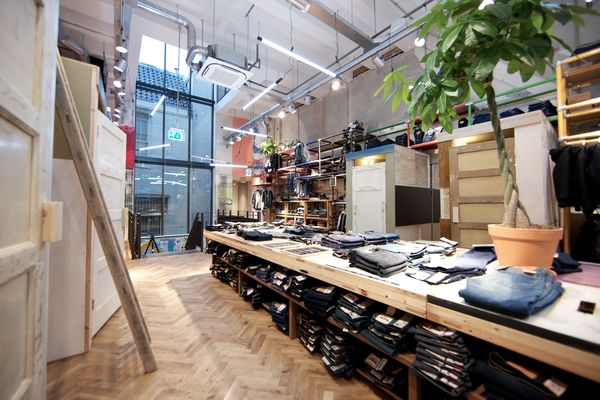 New Levi's store in Amsterdam