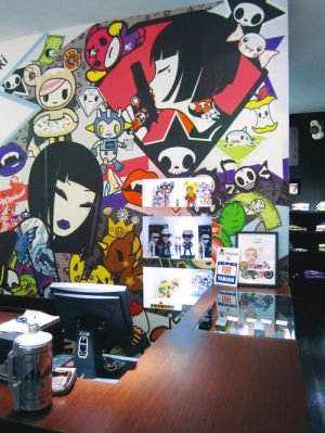 New Tokidoki store in Milan