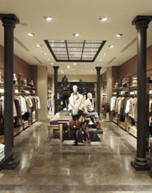 New store concept by Massimo Dutti