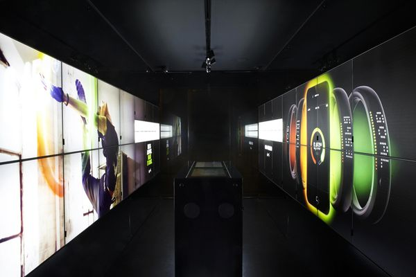 Nike's latest retail concept is based around high tech solutions targeted to the digitally inclined athlete of today.