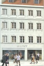 Outline of the Gant Flagship in Munich