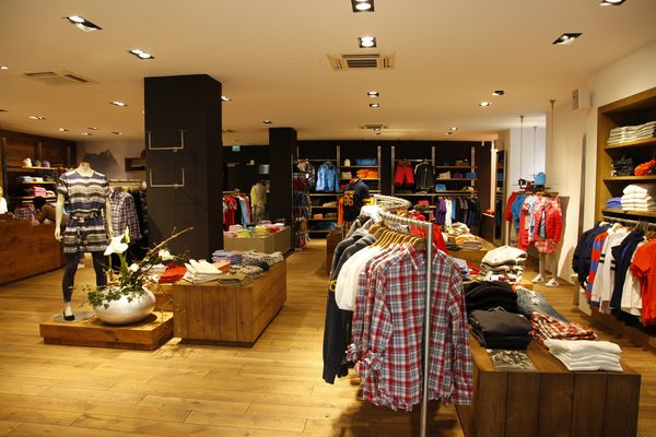 Peak Performance store in Regensburg interior