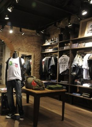 Pepe Jeans London store in Rome