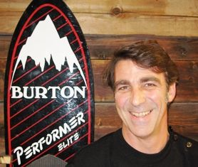 Philippe Gouzes as new SVP for Burton