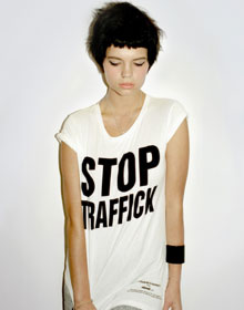 Pixie Geldof for the cause