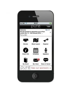 Pure London phone app