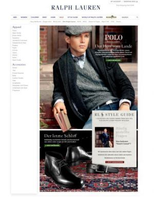Ralph Lauren online shop Germany