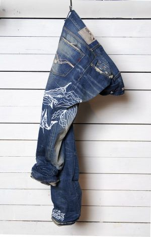 Replay Jeans by artist Canedicoda