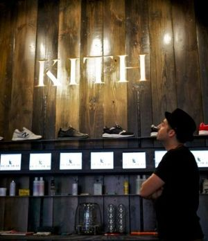 Ronnie Fieg, owner of Kith in Brooklyn, NY
