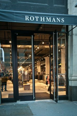 "Rothmans' new store exterior: ""Even the change from the outside is amazing!"""