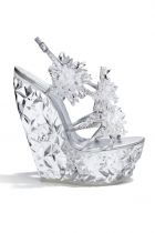 Shoe from the Sparkling Contrast series, designed by Casadei