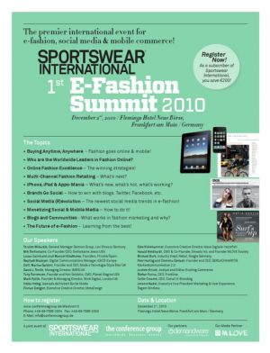 Sportswear International starts with events