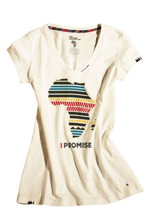 "T-Shirt of ""The promise"" collection by Tommy Hilfiger"