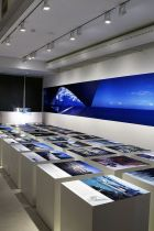 Tadao Ando's exhibition at the Duvetica store in Milan