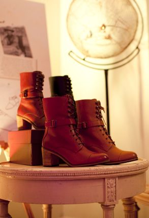 "The ""Blixen"" Boot from Samantha Pleet's collection for Wolverine"