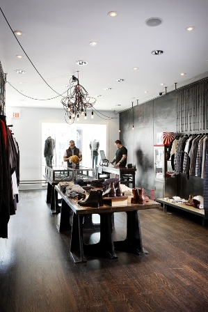 The Serpentine boutique with co-owners Paul Mailing and Stephen George