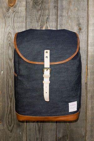 """The best of two worlds"" - backpack by Sandqvist & Denim Demon"