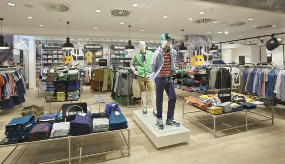 The boys' part of the renovated Boutique in Dortmund