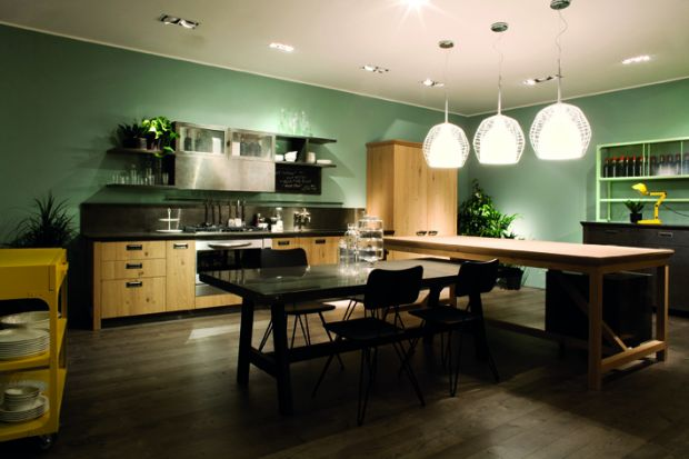 The Social Kitchen by Diesel and Scavolini