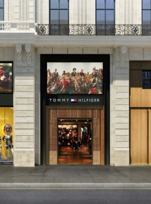 The new Hilfiger flagship in Paris