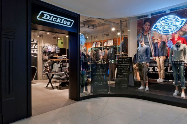 The new design is a fresh and unique experience for customers along the esteemed East Nanjing Road, offering a taste of the West and a glimpse of the reliable, authentic nature of Dickies.