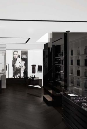 The new interior concept by Karl Lagerfeld