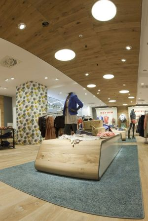 The re-designed Boutique department at P&C Dortmund
