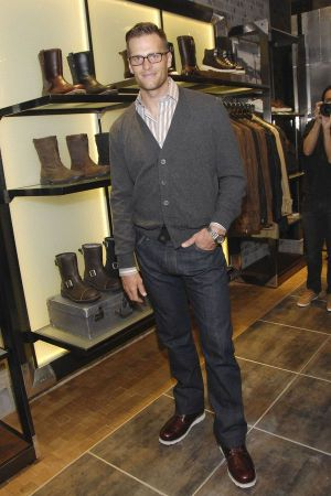 Tom Brady at Ugg Boots store opening