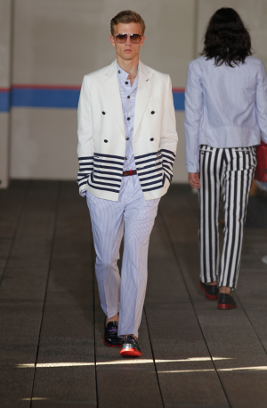 Tommy Hilfiger men's runway look