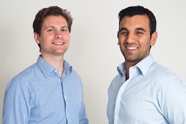 Upcload founders Sebastian Schulze, Asaf Moses