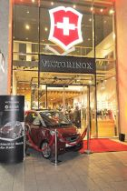 Victorinox Smart ForTwo presentation in Duesseldorf