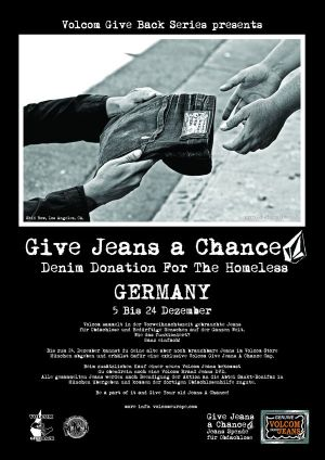 Volcom's Give Jeans a Chance campaign