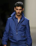 Workwear-inspired menswear by Bottega Veneta