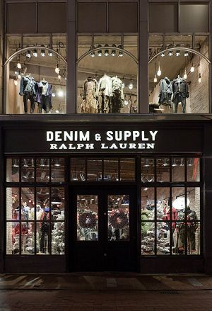 World's first Denim & Supply store