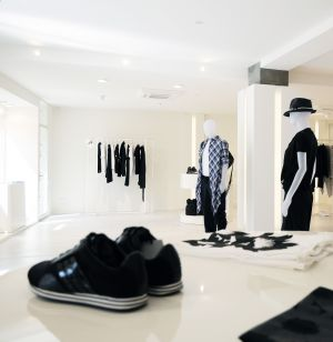 Y-3 store in Cannes