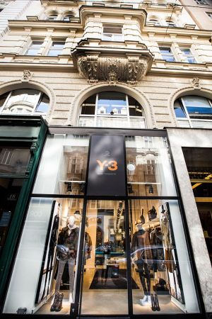 Y-3 store opening in Vienna