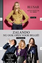 Zalando screen shots of the sites in Sweden and Belgium (top to bottom)