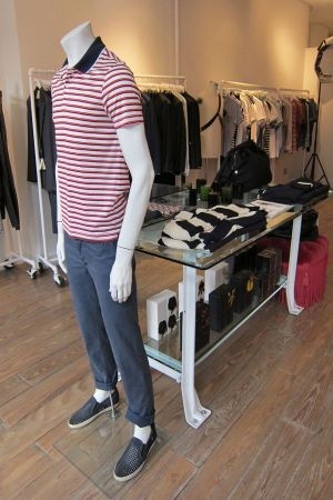 all about mens'wear at Behaviour, NY, owned by Chad Vo
