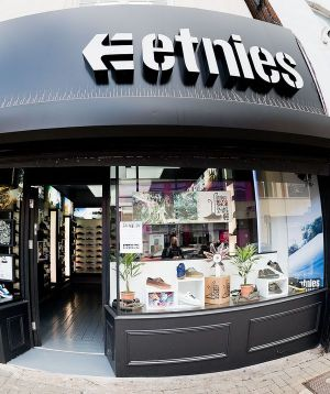 etnies store exterior; photo by Sam Ashley