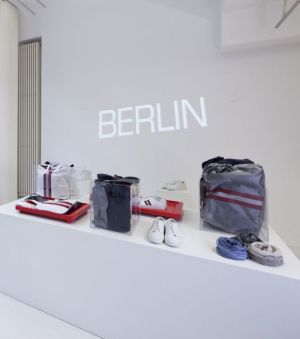 first Bally Pop-up store