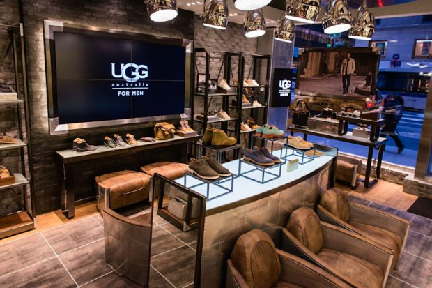 first Ugg Boots menswear store worldwide