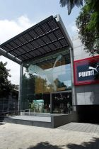 first sustainable Puma store in Bangalore