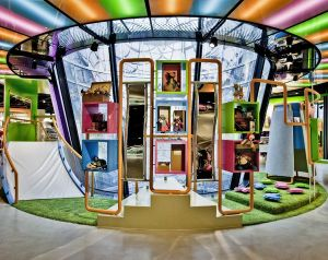 new kidswear department at Galeries Lafayette Berlin.